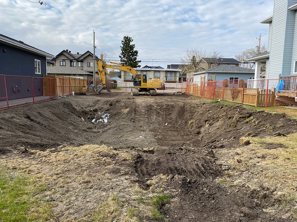 excavation projects in calgary